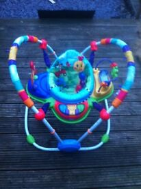 Baby Einstein Neighbor hood Friends Activity Jumper Bouncer Chair