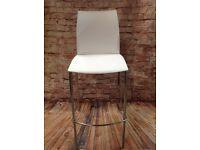 White Breakfast Bar Chair