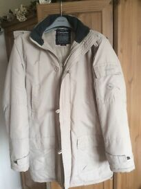 Cream jacket by Greygoose-lightweight but very warm