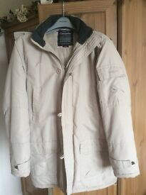 Cream coat/jacket by Greygoose-lightweight but very warm