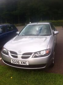 Nissan Almera excellent runner FSH only 65k many new parts with receipts