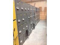 Grey Industrial/Gym/Changing Room Lockers