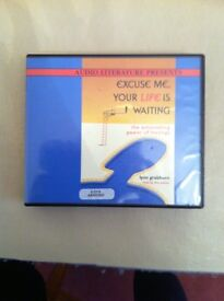 EXCUSE ME ,YOUR LIFE IS WAITING.BY lynn Grabhorn. 5 CDS