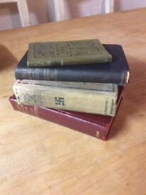 Assortment of Antique Collectible Books