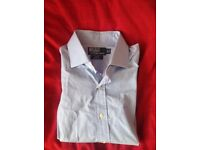 Polo by Ralph Lauren Light Blue Dress Shirt 15 1/2