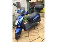 Scooter SYM 2 Very Good Condition. 125cc. Low mileage. Excellent price for quick sale.