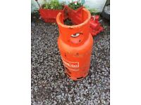 Propane gas bottle 19 kg half to 3/4 full static caravan burger patio heater roofers space heater