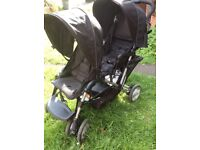 Graco Stadium Duo Double Pushchair, Suitable for baby good condition