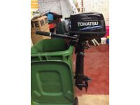 Tohatsu 6HP Sailpro Outboard