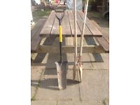 Trench Spade and Post Hole Digger