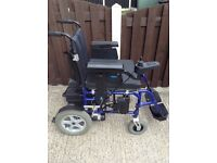 WHEELTECH ENIGMA ELECTRIC WHEELCHAIR ((CAN BE FOLDED DOWN)) USER BOOKLET
