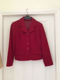 Ladies jackets and one leather 3/4 length coat