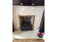 Complete Gas Fire and Fire Surround