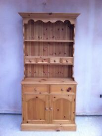 Beautiful, hand made, pine dresser