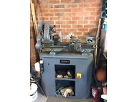MYFORD ML7 LATHE & STAND INC. ACCESSORIES, TOOLS, DRILLS & OPERATOR'S MANUAL (OFFERS CONSIDERED)