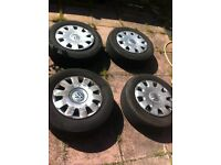 vw tyre 5 pcs full size