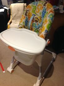 Fisher price high chair £15 ono