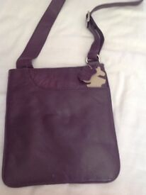 Two genuine leather bags