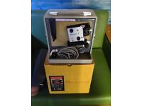 KODAK BROWNIE 8 MOVIE PROJECTOR IN BOX MODEL A-15G with bolt in case