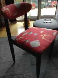 Upcycled 1960's Schrieber Dining Chair