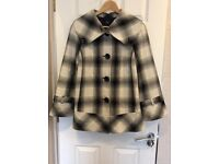 Ladies M&S Checked Jacket