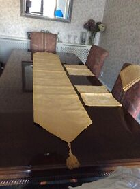 Laura Ashley table runner and place mats