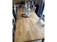 Beautiful wooden table - perfect for Christmas