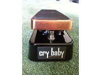MXR Joe Bonamassa Cry Baby Wah Wah Pedal for Sale