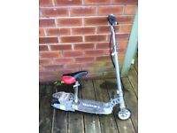 scooter -electric- working -with charger --cheap as chips