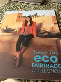 Debbie Bliss eco fair trade collection pattern book.