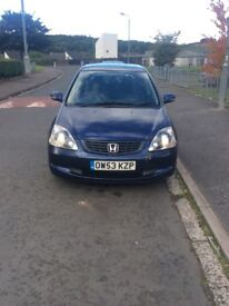Electric blue Honda for sale