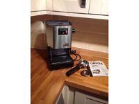 Gaggia Classic espresso machine.