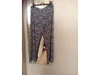 Bon Marche palazzo trousers size 16