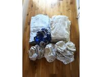 LARGE BUNDLE KITS OF COTTON BOTTOMS REUSEABLE CLOTH NAPPIES & WRAPS + MIO WRAPS