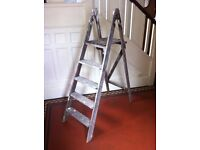 Antique Decorators Ladders for Shelving DIY Project Bookcase Storage / Can Deliver