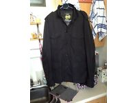 Lovely Jacket From Next Black size Large never Worn Sitting in Wardrobe