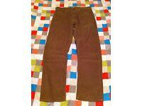Men's cord trousers - Size W32 L30