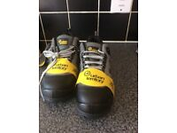 Brand new men's size 6 euro 40 steel toe boots