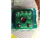 Zoom acoustic pedal in good working order. All sound,s are good very little use,