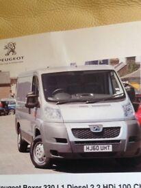 Silver Peugeot Boxer Diesel Van For Sale with Very Low Milage