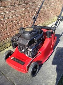 Mountfield 14inch cut Briggs and Straton engine lawnmower