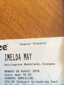 Imelda May ticket , Glasgow