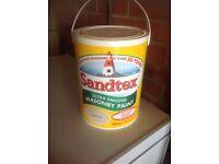 Sandstone masonry paint