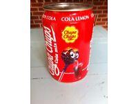 Chupa Chups Cola Can Advertising Collectible Lollipop Metal Can