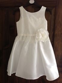 Next satin flower girl dress, age 3 £15.00