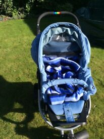 Teutonia S3 Spirit Multi-use stroller pushchair. Excellent condition.