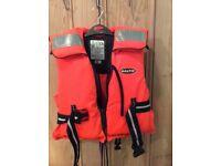 Children life jackets x2