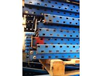 PLANNED STORAGE M SERIES HEAVY DUTY COMMERCIAL PALLET RACKING UPRIGHT FRAMES LEG