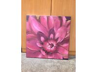Purple canvas £5.00