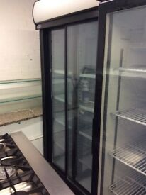 Single door glass fridge ( 6 month old )